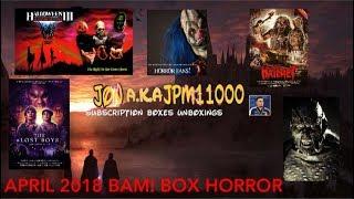 BAM! BOX HORROR- APRIL 2018