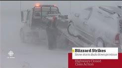 CBC News: New Brunswick at 6:00, Feb. 13, 2017 - Storm Special