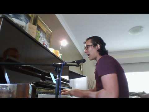 Jezabels - A Little Piece (Chris Robinson Live Piano Cover)