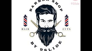 Barber Logo Intro Animation by Powerpoint - Hướng dẫn Powerpoint Tutorial - Khóa học Powerpoint
