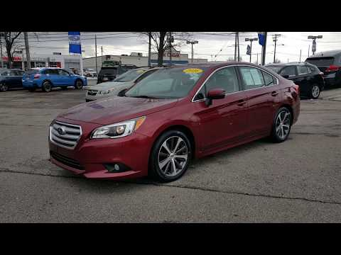 2016 Subaru Legacy 2.5i Limited For Sale Cleveland OH S7266T