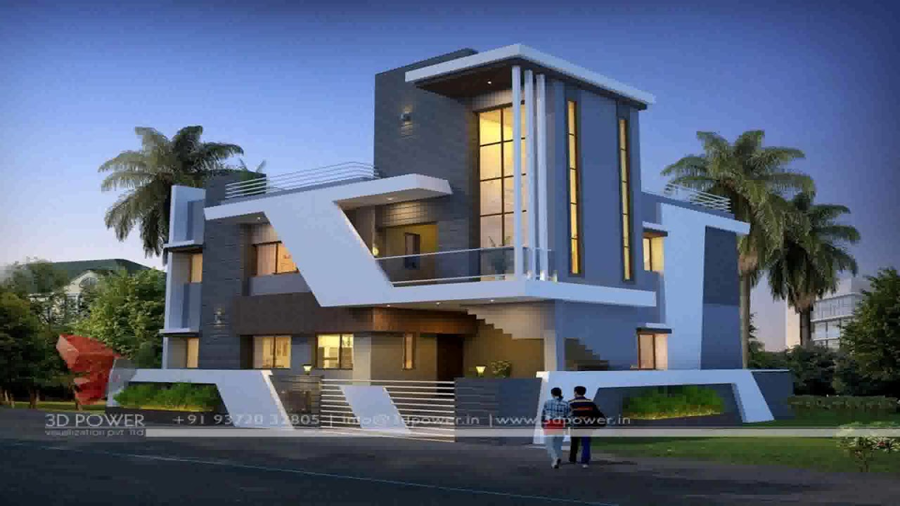 Ultra Modern Small House Design - YouTube
