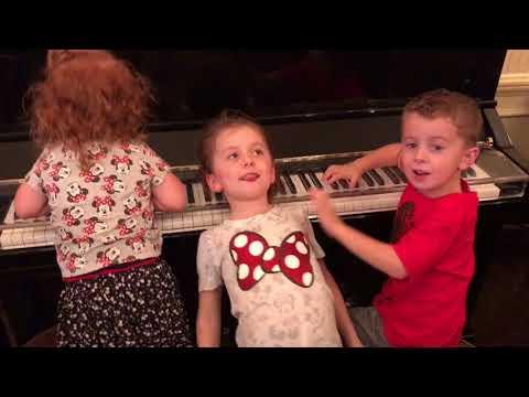 Amazed at the Disneyland Self-playing Piano