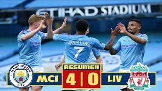 Манчестер Сити Ливерпуль 4 0 Обзор матча 02 07 2020