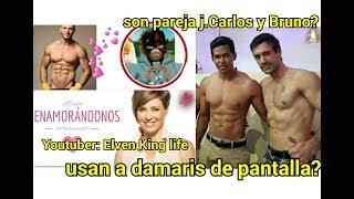 pareja Gay de streppers en Enamorandonos Bruno usa a damaris es novio de Juan Carlos? Teorías de fan
