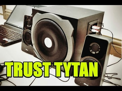 Trust Tytan 2.1 Unboxing Review Speakers and Subwoofer