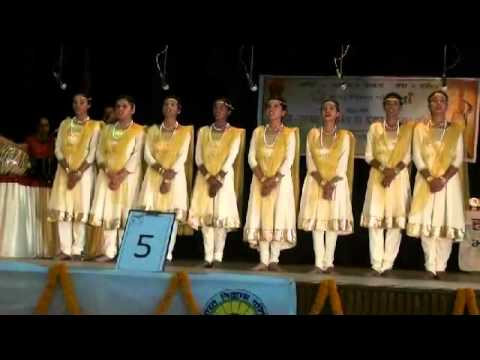 Patriotic Group Song by Crescent Public School in Bharat Vikash Parishad 2014