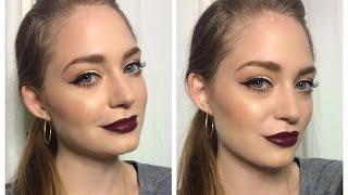 Осенний макияж / макияж на осень: видео-урок