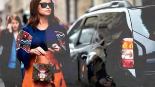 Уличная мода в Париже 2017