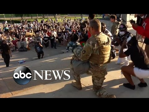 Minnesota National Guardsman On Connecting With Protesters