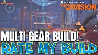 The Division MULTI GEAR NINJABIKE BUILD WITH LASER ACCURACY! RATE MY BUILD #7
