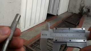 Cómo medir milímetros con Calibrador Vernier (How to use Vernier caliper)
