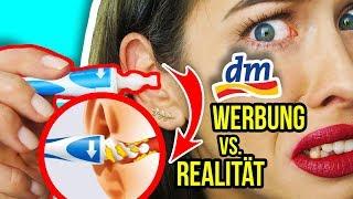 WERBUNG vs. REALITÄT: NEUE DM PRODUKTE 2018 im LIVE TEST! 😳 & CRAZY AMAZON MAKEUP!