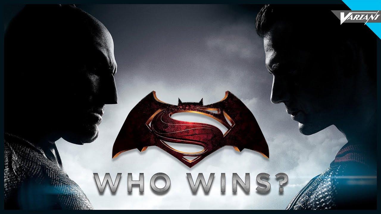 batman vs superman who wins youtube