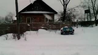 митя против снега