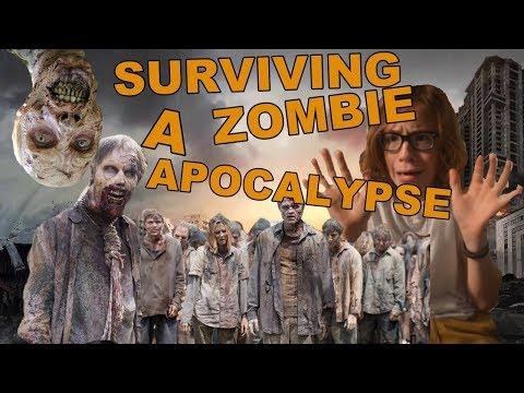 WOULD I SURVIVE A ZOMBIE APOCALYPSE?!?/// JORDAN'S POST