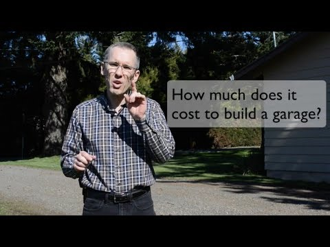 The best 25 building garages cost free download pdf video for How much would a garage cost to build