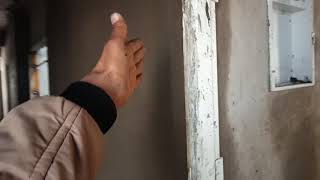 Wall Plaster Work At Site | Gypsum Plaster vs Cement And Sand Plaster