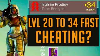 Destiny Level Up Fast LvL 20-34 Fast - Ranking Up Hunter to LvL34