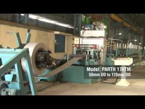 Tube Mill For Stainless Steel (Parth 170 TM)