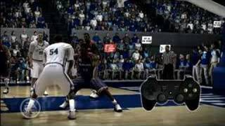 March Madness 08 Dynamic Post Control PS3 Offensive Tutorial