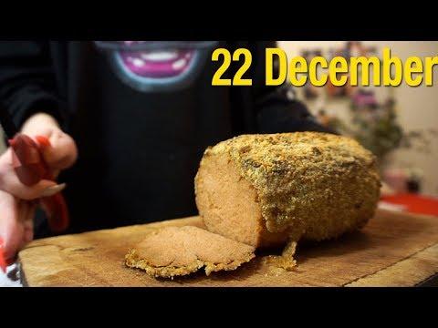 22 December: Vegan Christmas Ham and Cozy Me-Day