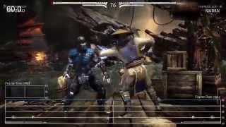 [60fps] Mortal Kombat X: PS4 Frame-Rate Test