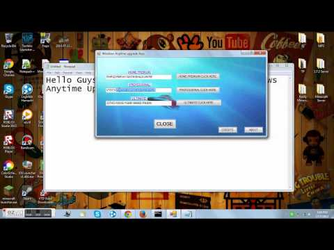 Windows Anytime Upgrade Key!