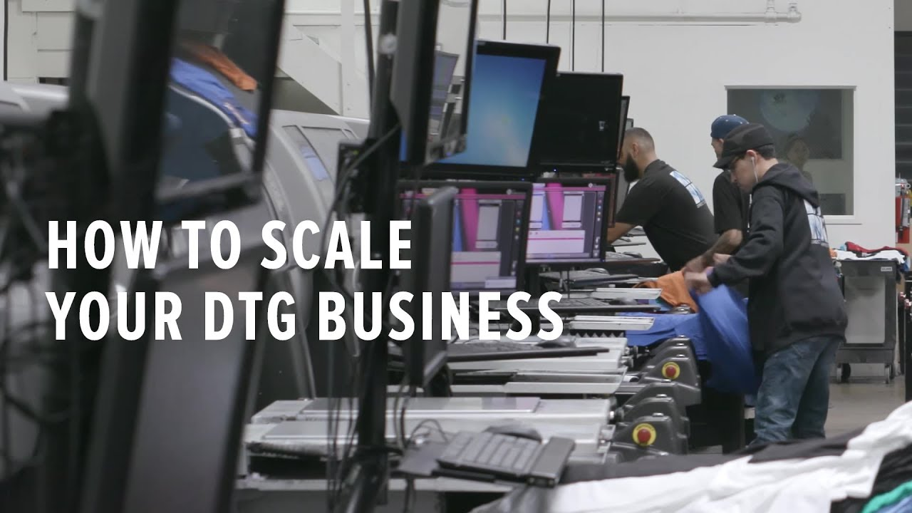 1ade6d9b9 How to Scale Your DTG Printing Business: Tips from a Pro - Beyond the Blank