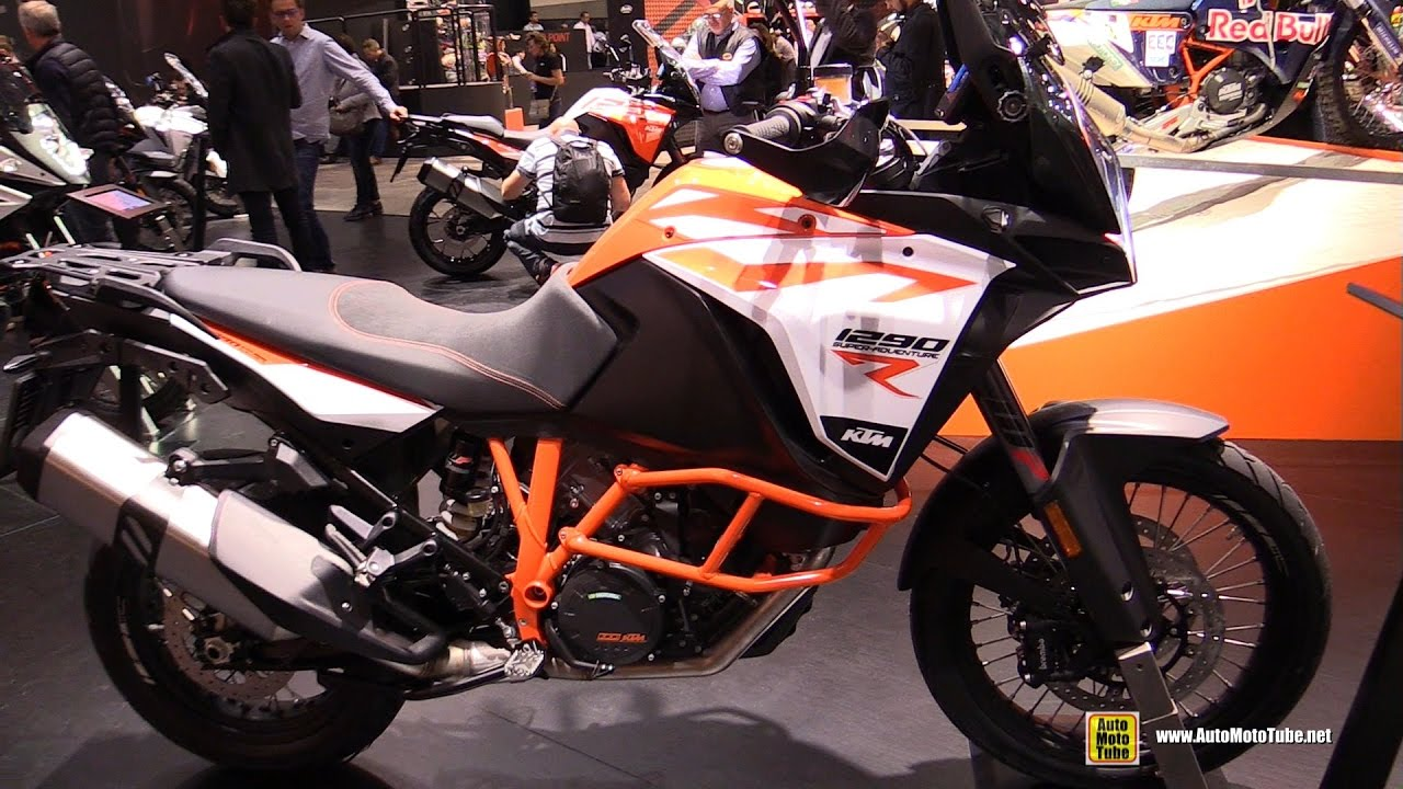 2017 ktm 1290 super adventure r - walkaround - 2016 eicma milan