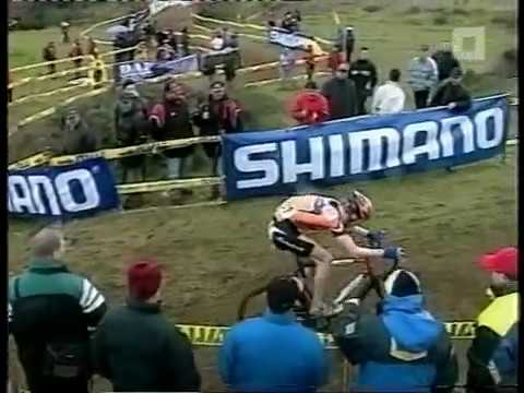 WK cyclocross 2003 - Monopoli - Lars Boom