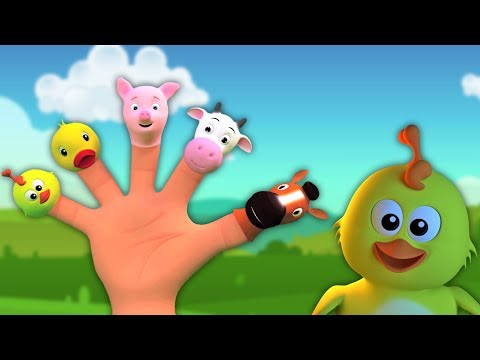 Dedo Família da rima | coleta de canções para crianças | Finger Family Rhyme