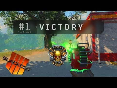 Call Of Duty Blackout Ray Gun Gameplay!