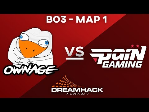 Dreamhack Atlanta CLOSED Qualifier | OWNAGE vs PaiN Gaming Map 1