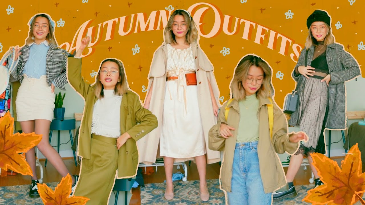 styling ~sPiCy~ fall outfits + thrift haul