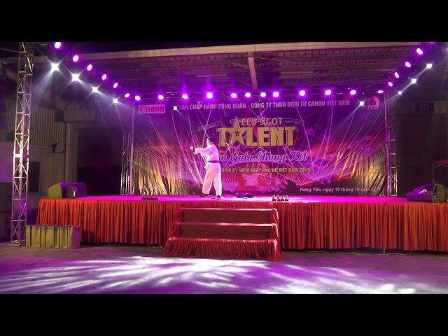Võ cổ truyền Việt Nam biểu diễn trên sân khấu CEV'SGOT TALENT