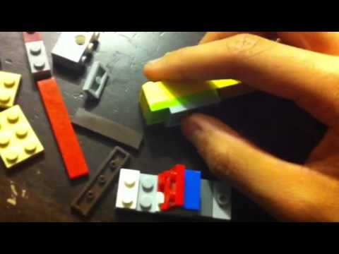 Lego Colt M1911 Instructions Part 1 Youtube