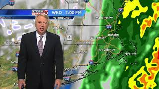 Video: Rain moves in for Thanksgiving travel
