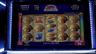 Konami - Quest for Riches Slot Machine Bonus