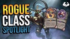 ROGUE CLASS SPOTLIGHT | Tempo Storm Hearthstone [Descent of Dragons]