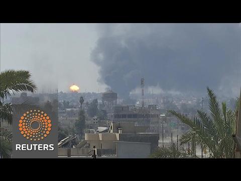 Iraqi forces recapture Mosul government buildings, museum