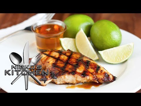 GRILLED PINEAPPLE CHICKEN - VIDEO RECIPE