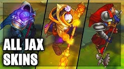 All Jax Skins Spotlight (League of Legends)