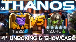 Thanos Unboxing & Duel vs. Hulk (Ragnarok) w/ Fighting Tips | Marvel Contest of Champions