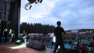 SICK OF IT ALL - Ratpack feat. Riz of King Ly Chee LIVE at Mair1 Festival Germany 2013