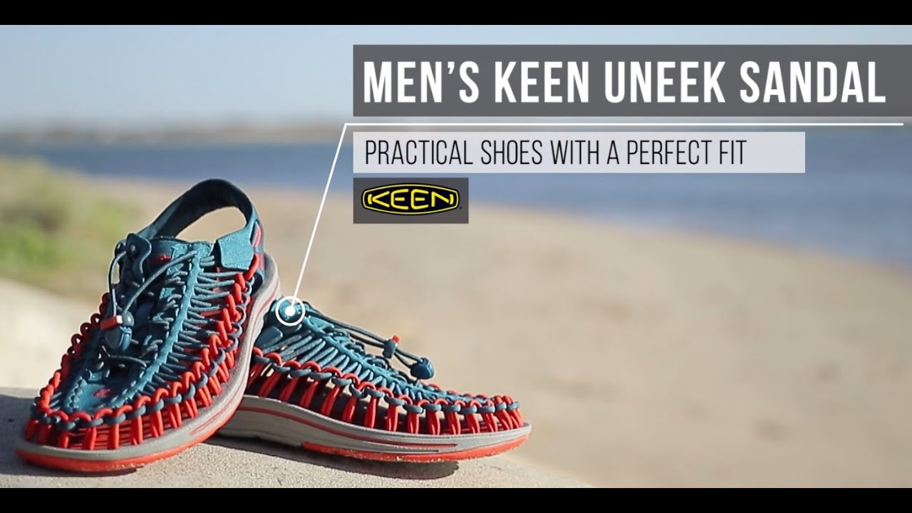 ac2c33dae398 Men s KEEN UNEEK - Practical Shoes with A Perfect Fit - YouTube