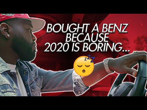 🔥 I Bought A Benz Because 2020 Is Boring…🤷🏿♂️(Forex Funded)
