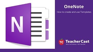 Working with Microsoft OneNote Templates