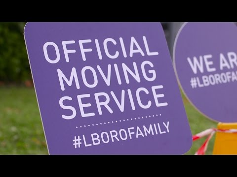 Loughborough University Freshers 2016 Move In Day One