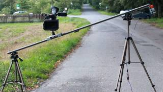 Camera-slider Mit Motor - Do It Yourself / Eigenbau (igus) - [testaufnahmen Teil 1]